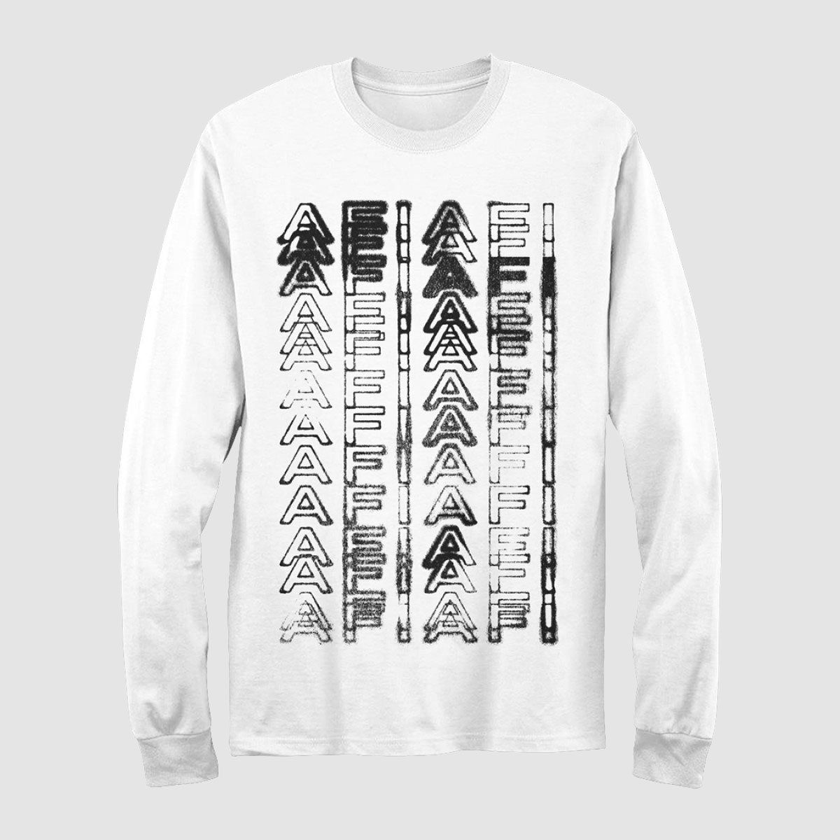 Blur Down Long Sleeve Tee – AFI